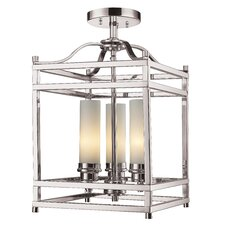 Altadore 3 Light Semi-Flush Mount