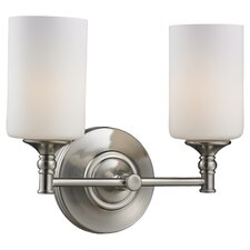 Cannondale 2 Light Bathroom Vanity Light