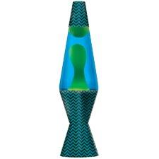 "Chevron print Lava 14.5""H Table Lamp (Set of 4)"