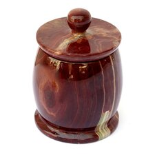 Onyx Decorative Jar