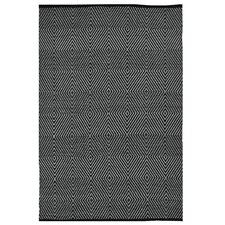 Zen Black Indoor/Outdoor Area Rug