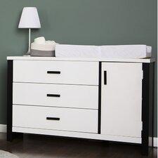 Cafeina 3 Drawer Dresser Combo