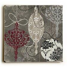 Silver Ornaments Graphic Art