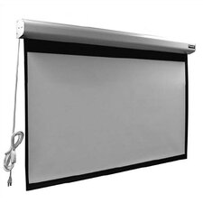 Elegante Matte White Electric Projection Screen