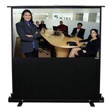 "Porta-Vu Traveller Matte White 68"" Diagonal Portable Projection Screen"