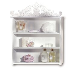 French Country Plume Display Shelf