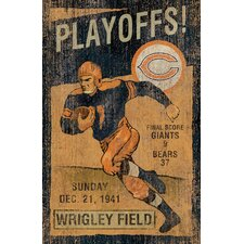 NFL Vintage Advertisement Wall Art