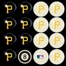 MLB Billiard Ball Set