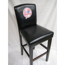 "MLB 24"" Bar Stool with Cushion (Set of 2)"