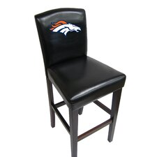 NFL Bar Stool with Cushion (Set of 2)