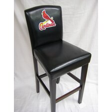 "MLB 29.5"" Bar Stool with Cushion (Set of 2)"