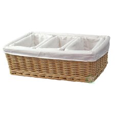 4 Piece Willow Basket Set