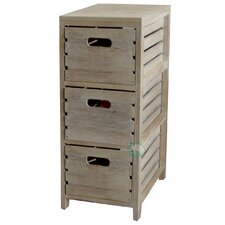 3 Drawer Crate Chest