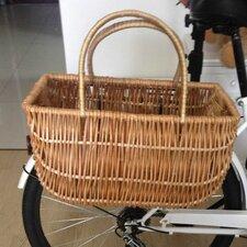 Wicker Shopping Bike Basket