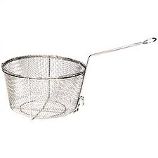 Nickel-Plated Fry Basket