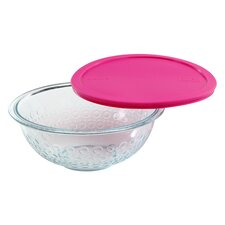 Textures Dot Mixing Bowl with Lid