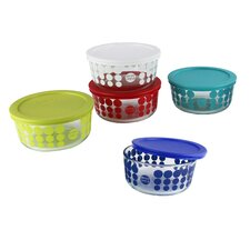 Pyrex 10 Piece Simply Store Glass Food Storage Container Set