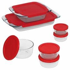 Easy Grab 14 Piece Bakeware and Food Storage Set