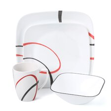 Fine Lines 16 Piece Dinnerware Set