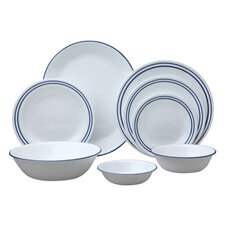 Livingware Breathtaking Beads 76 Piece Dinnerware Set