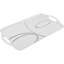 Simple Lines Rectangular Serving Tray
