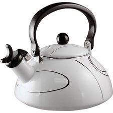 Simple Lines 2-qt. Whistling Tea Kettle