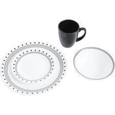 Livingware City Block 16 Piece Dinnerware Set