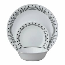 Livingware City Block 18 piece Dinnerware Set