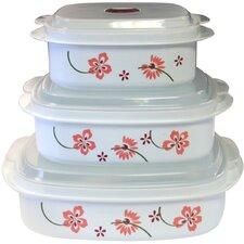 Coordinates 6 Piece Microwave Cookware & Storage Set II