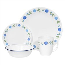 Livingware Spring Blue 16 Piece Dinnerware Set