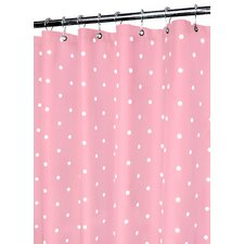 Prints Classic Polka Dot Shower Curtain
