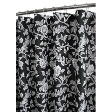 Prints Floral Swirl Shower Curtain
