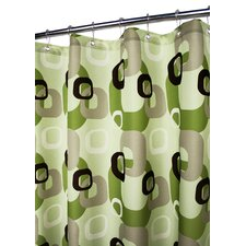 Prints Geo Squares Shower Curtain