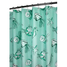 Prints Sea Life Shower Curtain