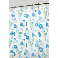 Prints Starburst Floral Shower Curtain