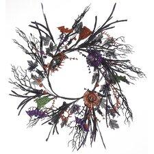 "Halloween 24"" Spooky Wreath"