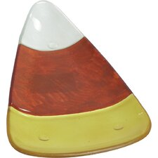 Harvest Candy Corn Plate