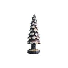 Pinecone Snow Tree