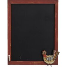 Lost and Found Rooster Multimedia Chalkboard
