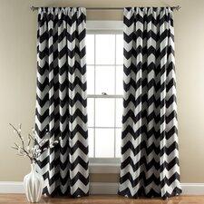 Chevron Blackout Curtain Panel (Set of 2)