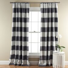 Stripe Blackout Curtain Panel (Set of 2)