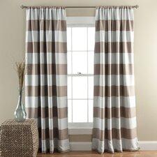 Stripe Blackout Curtain Panel (Set of 2)