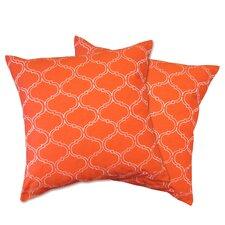 Trellis Throw Pillow (Set of 2)