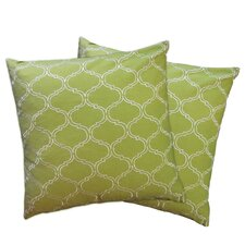 Trellis Throw Pillow (Set of 2)
