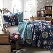 Adrianne 3 Piece Coverlet Set