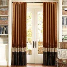 Mia Rod Pocket Curtain Panel (Set of 2)