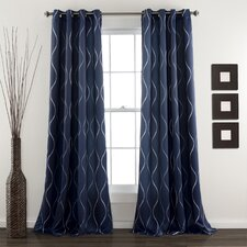 Swirl Curtain Panel (Set of 2)