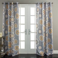 Adrianne Window Curtain Panel (Set of 2)