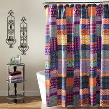 Misha Polyester Shower Curtain