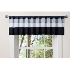 "Iman Rod Pocket Tailored 84"" Curtain Valance"